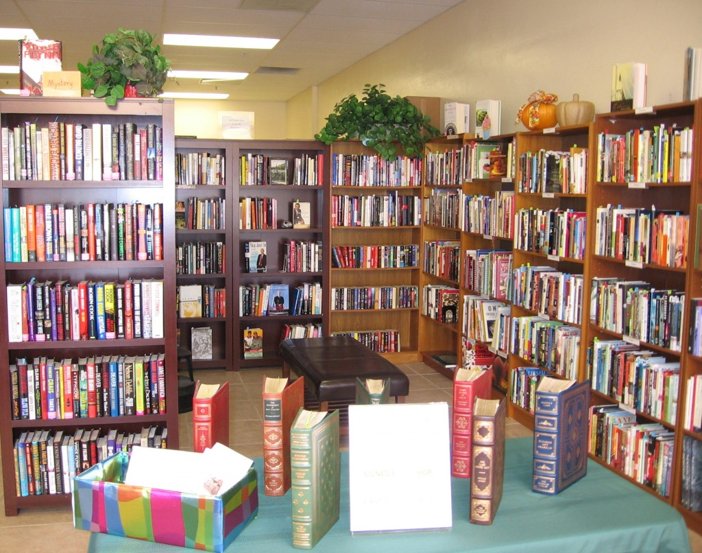 A partial view of Book Shoppe Too