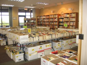 Our Fall and Spring Book Sales have more than 20,000 books each!